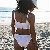 Out From Under Krista Polka Dot Ruffle Bikini Bottom