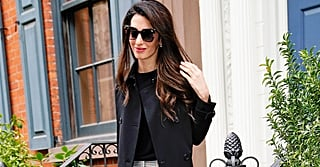 Amal Clooney Looks Like One Badass Babe in These Chic Plaid Pants