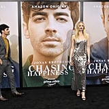 Joe Jonas and Sophie Turner at Chasing Happiness Premiere