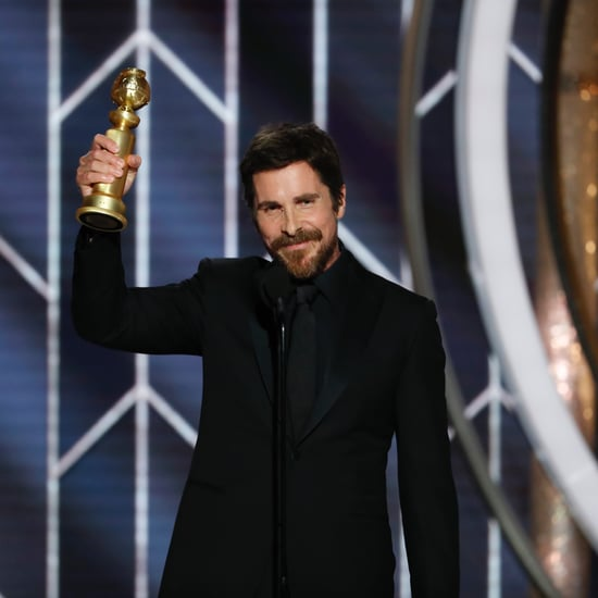What Did Christian Bale Say at the 2019 Golden Globes?