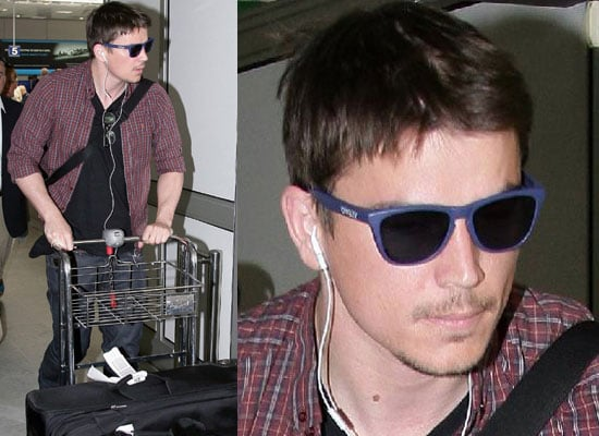 Photos Of Josh Hartnett Arriving At Nice Airport For The Cannes Film Festival