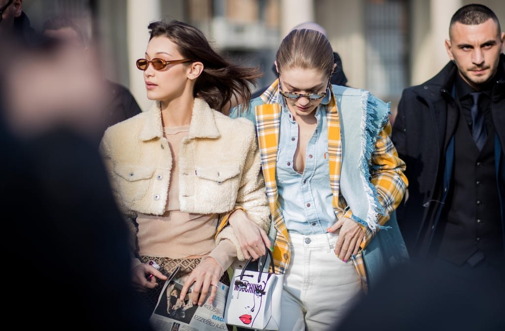 Gigi and Bella Hadid Best Fashion Week Moments Fall 2018