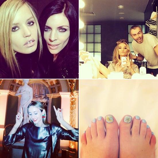Celebrity Beauty Instagrams | Feb. 19, 2014
