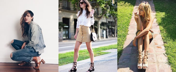 Zara Is Stocked With the New Lace-Ups Every Blogger Is Wearing