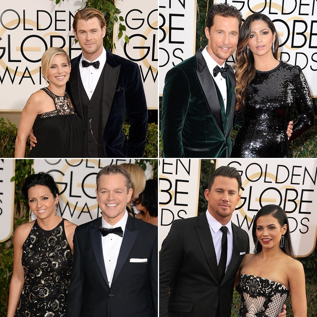 Celebrity Couples at 2014 Golden Globes
