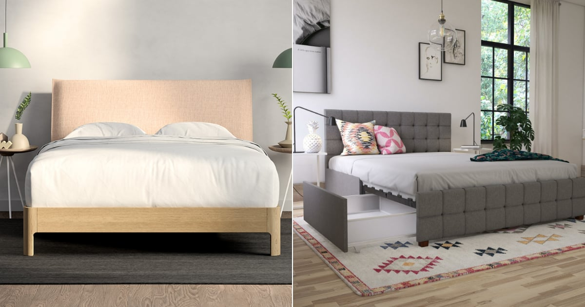 Turn Your Bedroom Into a Dream Space With These 17 Stunning Bed Frames