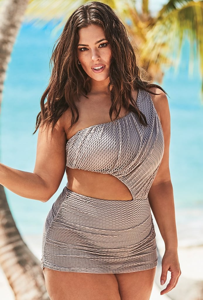 Ashley Graham x Swimsuits For All Gala One Shoulder One Piece Swimsuit