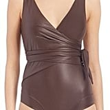Lisa Marie Fernandez One-Piece Dree Louise Wrap Maillot