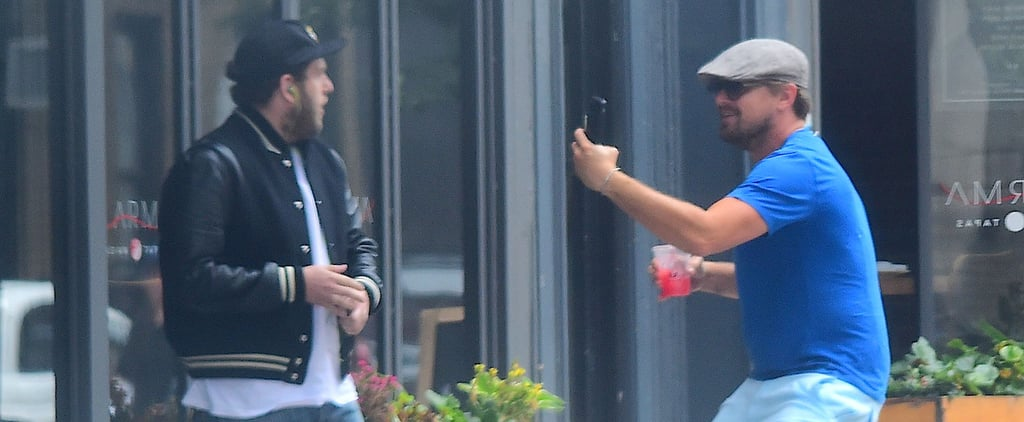 Leonardo DiCaprio Pulls an Epic Prank on Jonah Hill on the Streets of NYC