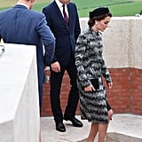 Kate Middleton's Dress at the Somme Centenary Commemorations