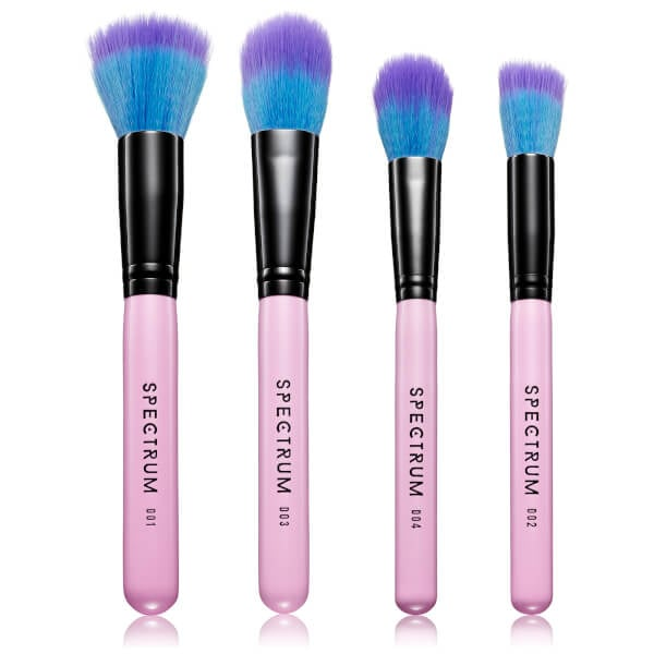 Spectrum Collections Duo Fibre Brush Set — Pink