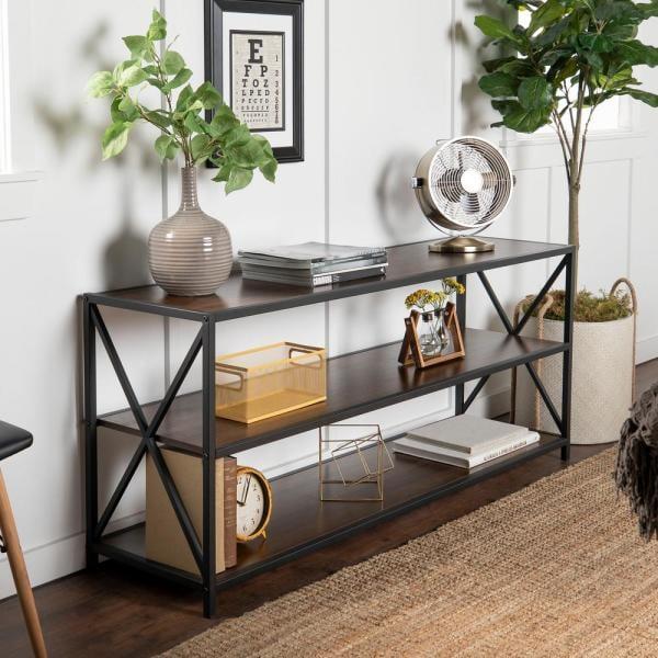 Walker Edison Furniture Company Etagere Bookcase