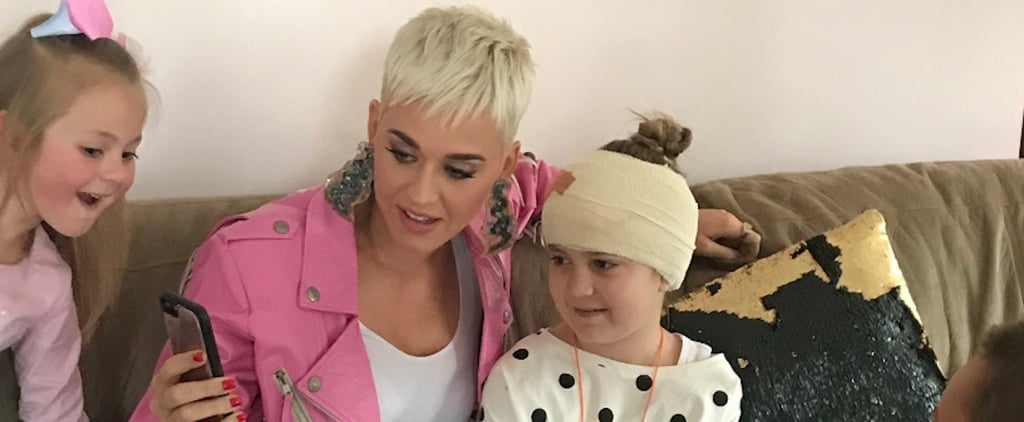 Katy Perry Surprises Sick Fan in Australia July 2018