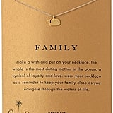 Dogeared Family Gold-Plated Sterling Silver Whale Pendant Necklace ($62)