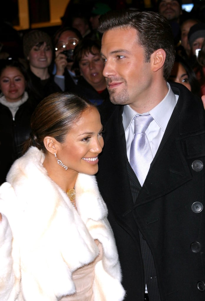 Jen and Ben looked picture-perfect on the red carpet in December 2002.
