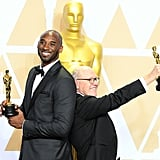 Pictured: Kobe Bryant and Glen Keane