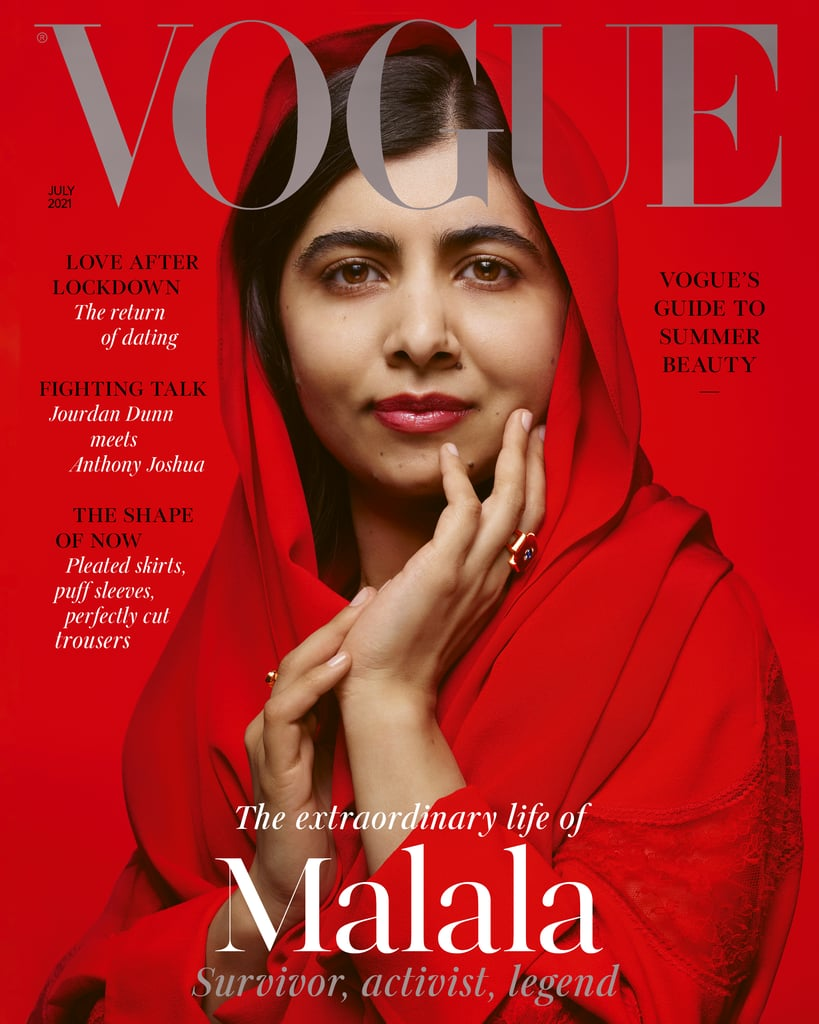 See Malala Yousafzai's Empowering British Vogue Cover