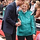 Prince Harry at London Marathon 2016 Pictures