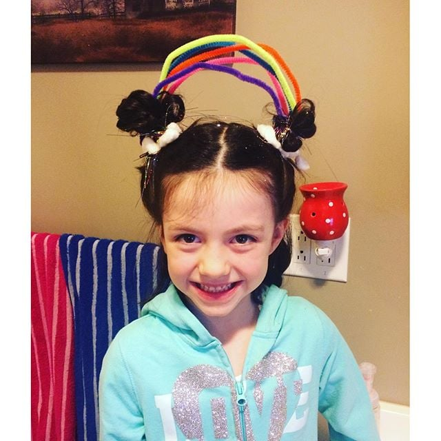 Crazy Hair Day Ideas Popsugar Family