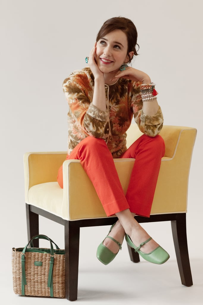 "Rachel Brosnahan is honoring her late aunt Kate Spade in a new campaign. On Wednesday, it was announced that the Marvelous Mrs. Maisel actress is the face of the Spring campaign for Frances Valentine, Kate's brand that she launched in 2016. The news comes less than one year after Kate's death at age 55, and it was the perfect opportunity for the actress.  ""When you lose someone you love, you search for boundless ways to keep their memory alive,"" Rachel told People. ""This felt like a way to do that through her beautiful creations and an opportunity to share them with all of those who her work meant so much to."" But Rachel isn't the only part of the collection that's part of Kate's legacy — the site reports that the collection honors ""the late designer's signature colorful aesthetic and vision for spreading joy through vibrant fashion designs.""  ""I think it's more meaningful than any other campaign we've done because it's [Rachel], and she was so close to Katy,"" Elyce Arons, CEO of Frances Valentine, told the site. ""I know it would really make Katy smile."" Following Kate's death, Rachel reflected on her aunt's life in an Instagram post, writing, ""She had a light that words can't capture but touched everyone she came into contact with. She was exceedingly kind, beautifully sensitive, insanely talented, funny as heck, and one of the most generous people I have ever known. She was effervescent."" Ahead, see the photos from Rachel's campaign. The Frances Valentine Spring collection is available online now.      Related:                                                                                                           Whip Out That Wish List! 25 Gorgeous Gifts From Kate Spade NY"
