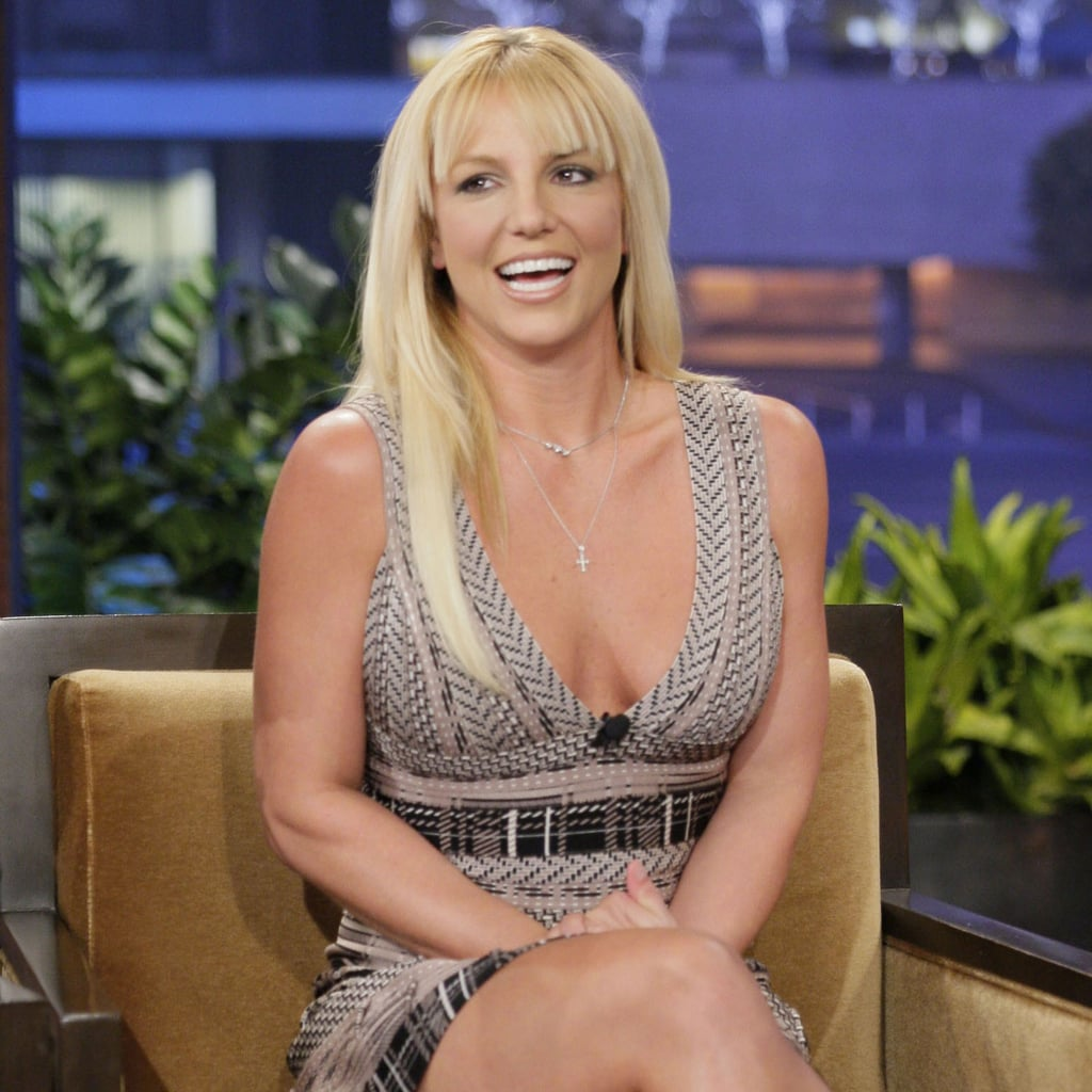 Britney Spears on The Tonight Show With Jay Leno   Pictures