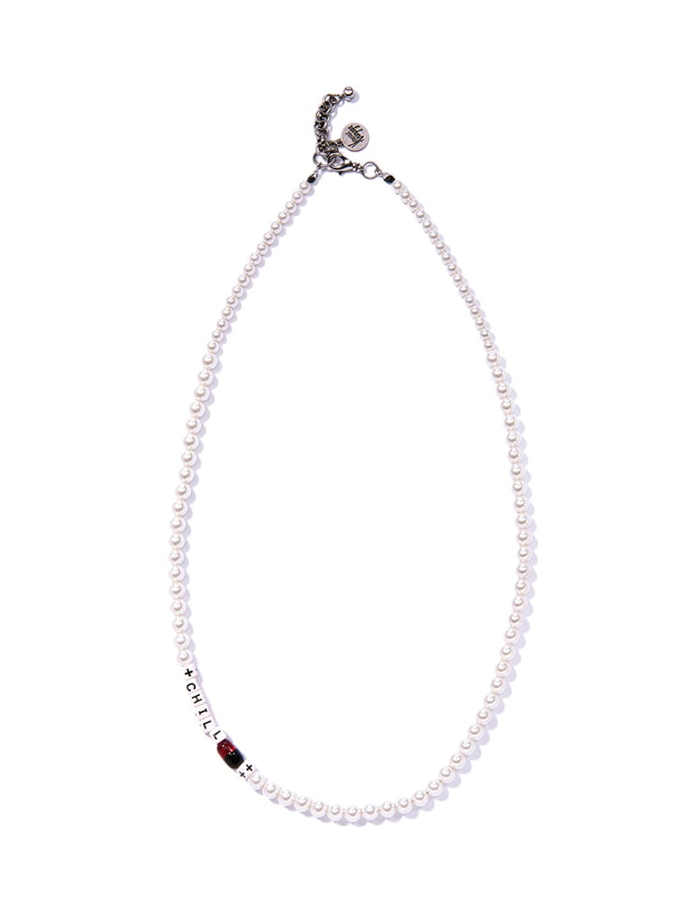 Venessa Arizaga Chill Pill Pearl Necklace