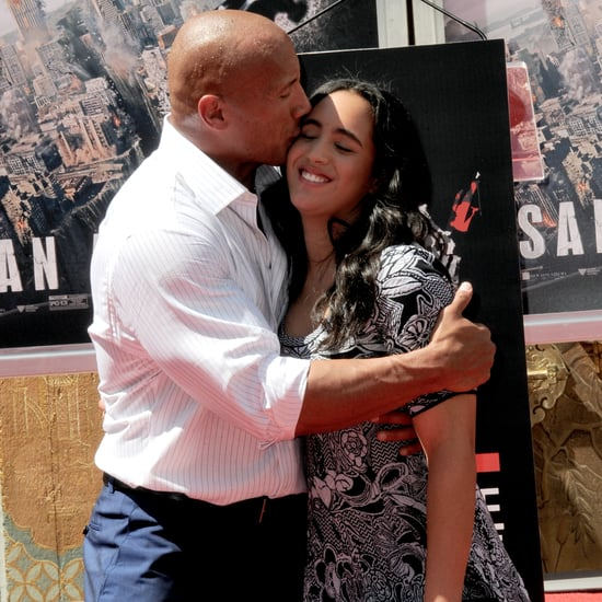 Dwayne Johnson Congratulates Daughter on Graduation