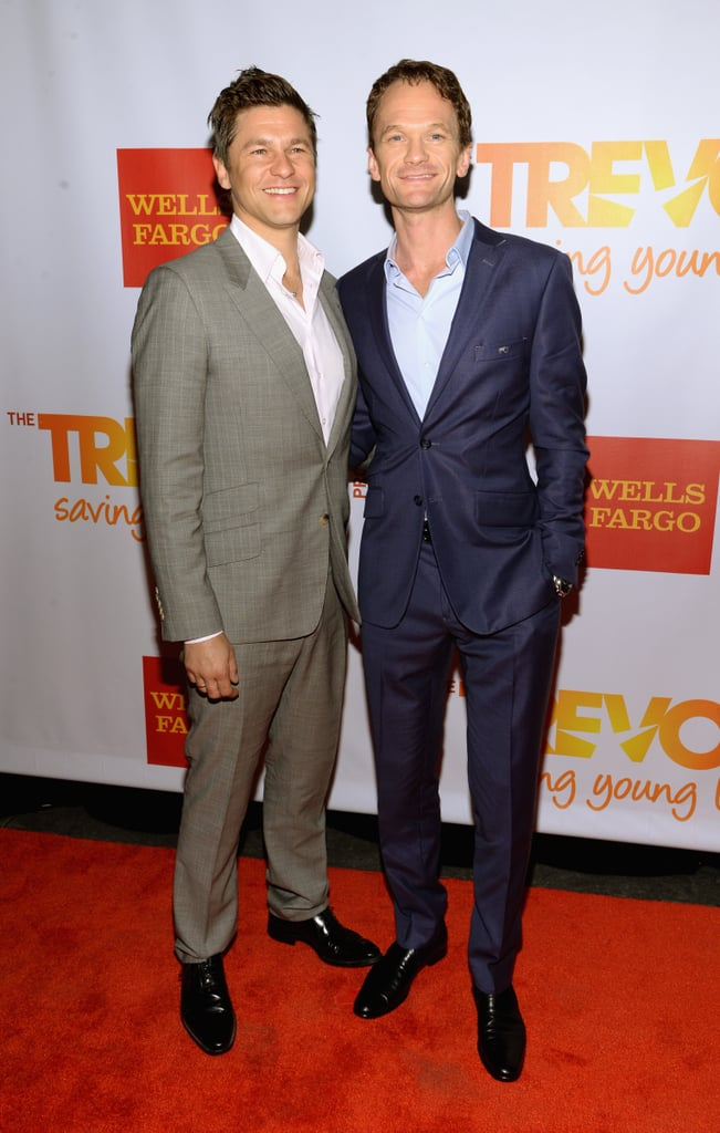 Neil and David struck a pose.