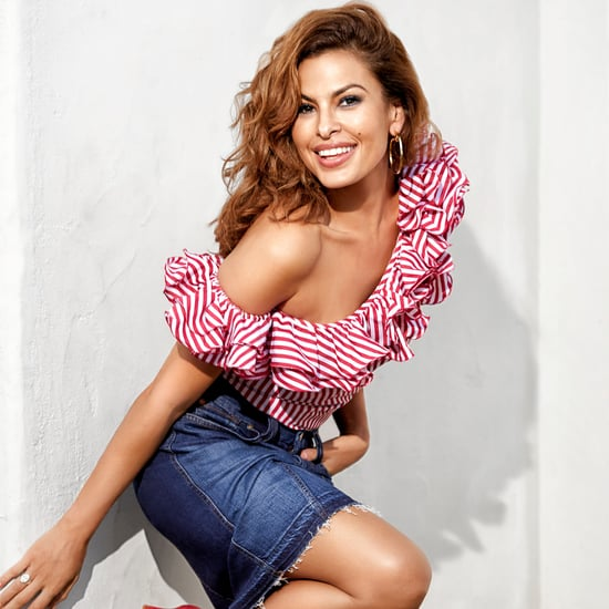 Eva Mendes on Shape Magazine April 2017 Issue