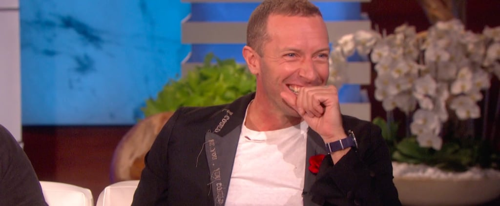 Chris Martin Embarrassed His Daughter Apple at Work | Video