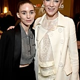 Pictured: Cate Blanchett and Rooney Mara