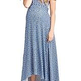 Nom Maternity Caroline Maternity/Nursing Maxi Dress