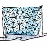 HotOne Geometric Purse PU Leather Chain Crossbody Purse Clutch