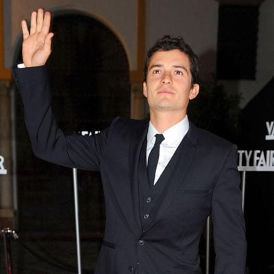 Orlando Bloom in Seville, Spain for Vanity Fair Party