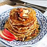 Whole-Wheat Apple Spice Pancakes