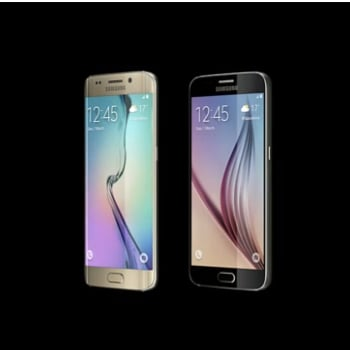 Pictures of Samsung Galaxy S6 and S6 Edge