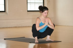 Strike a Yoga Pose:  Wide Squat