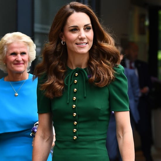 Kate Middleton Green Dress at Wimbledon 2019