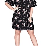 City Chic Floral Dreaming Off the Shoulder Dress
