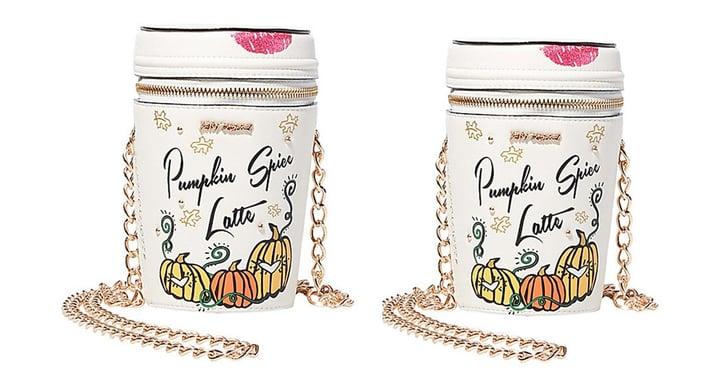 Betsey Johnson Pumpkin Spice Latte Purse Popsugar Food
