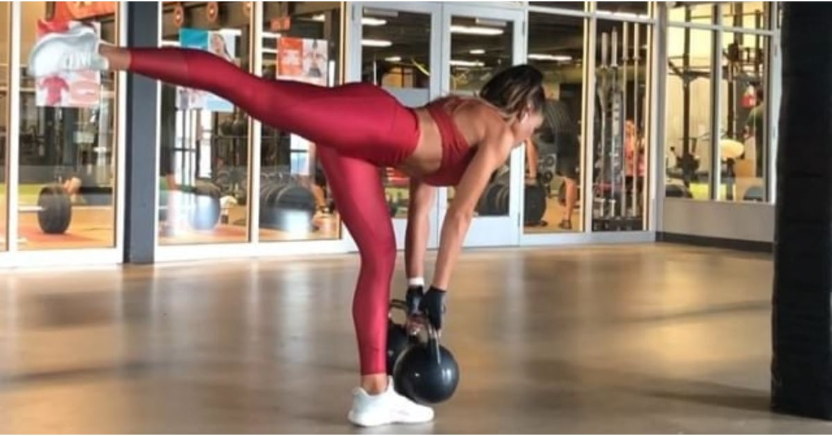 If You're Short on Time, Try Kelsey Wells's 5-Move Lower-Body Kettlebell Blast