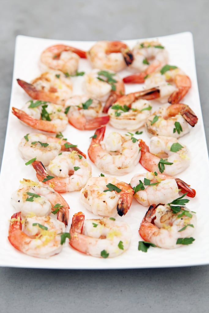 Grilled Shrimp With Lemon and Parsley