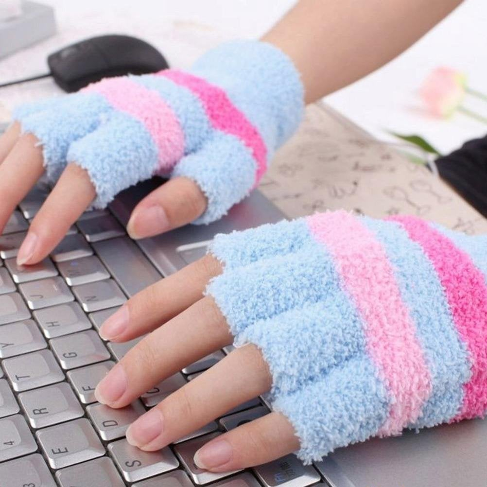 how to keep hands warm in office