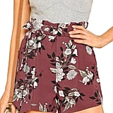 SheIn Tie-Waist Shorts