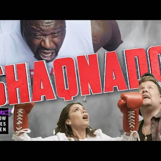 Victoria Beckham and Shaq in Shaqnado