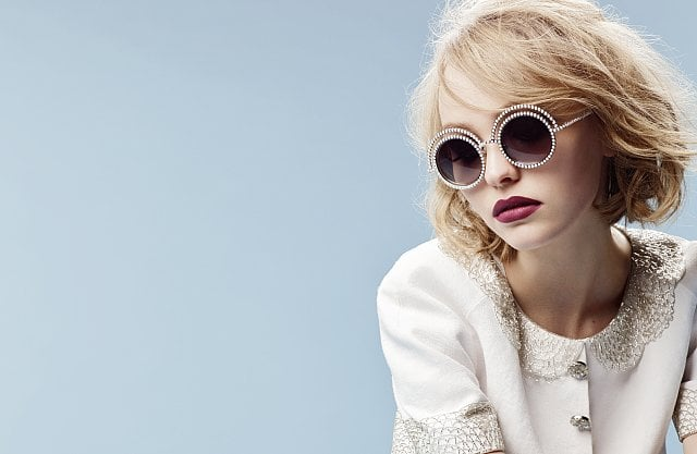 Both Lily-Rose and Cara Scored Chanel Eyewear Campaigns