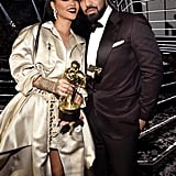 Rihanna reconnected with former flame Drake.
