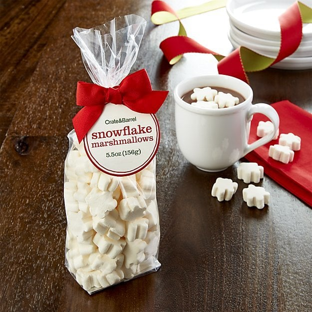 Crate & Barrel Snowflake Marshmallows