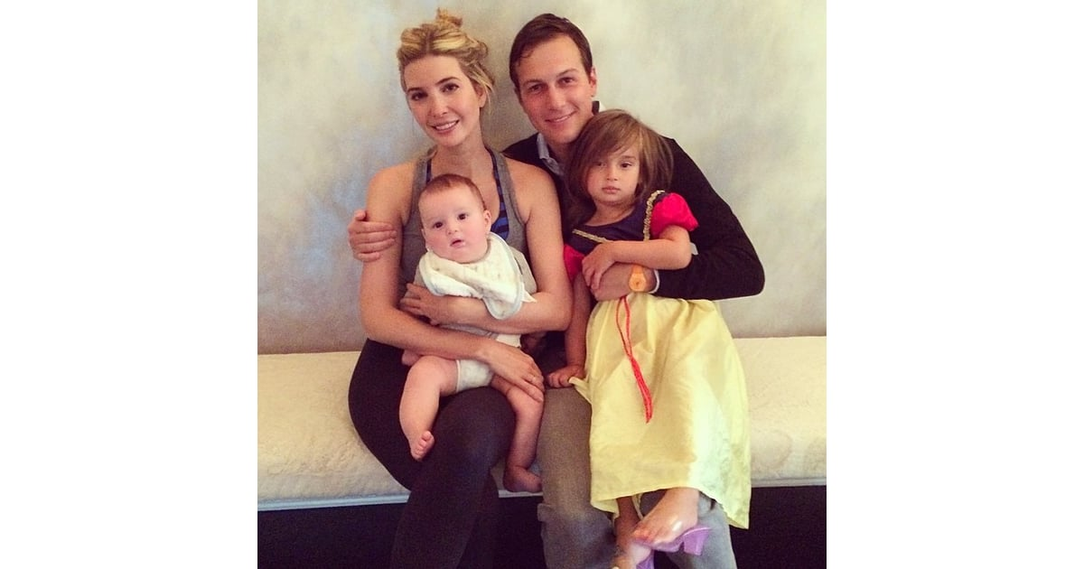 Ivanka Trump And Jared Kushner Took A Quick Family Photo