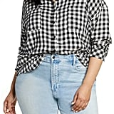 BP. Plaid Boyfriend Shirt